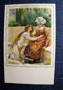 JULIET-amp-THE-NURSE-Shakespeare-Series-Postcard-c-1904