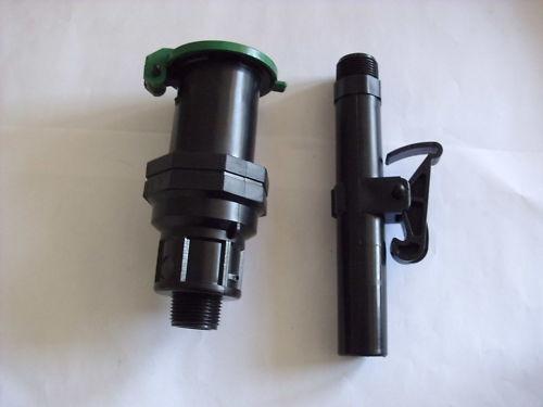 """Schnellkupplungs-Hydrant Wassersteckdose 3/4"""" m. Deckel"""