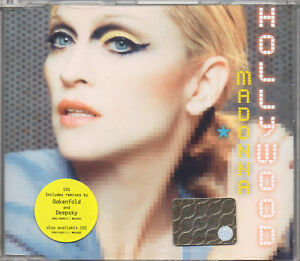 MADONNA CD SINGLE made in GERMANY Hollywood 2 REMIX - Italia - MADONNA CD SINGLE made in GERMANY Hollywood 2 REMIX - Italia