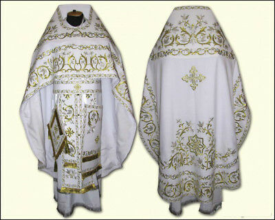 Fully Embroidered Russian Orthodox Vestment Paschal