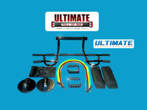 CHIN-PULL-UP-BAR-RESISTANCE-BANDS-PUSH-UP-GRIP-FOR-P90X