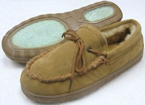 NEW Womens SHEEPSKIN MOCCASINS Cocoa Size 5 6 7 8 9 10