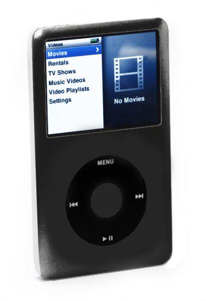 apple ipod classic 6th generation black 80 gb ebay. Black Bedroom Furniture Sets. Home Design Ideas