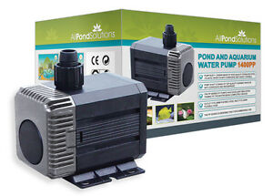 Submersible-Water-Pond-Garden-Pump-Filter-1400L-H-New