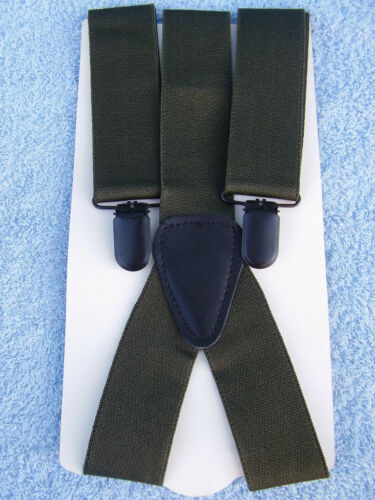 Farben verstellbar Y-Modell Neu Hosenträger mit Clip Suspenders versch