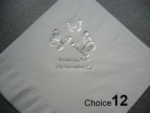 100-Personalised-Wedding-Napkins-9-NEW-2014-designs