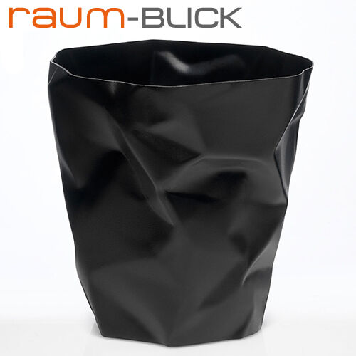 Bin Bin Papierkorb schwarz essey Abfalleimer Büro