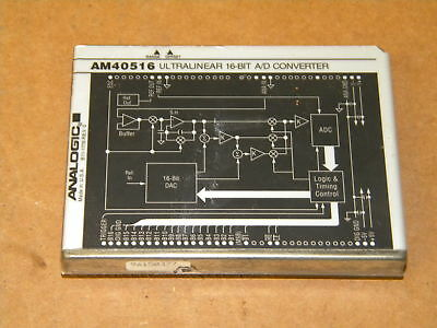 ANALOGIC AM40516 ULTRALINEAR 16-BIT A/D CONVERTER