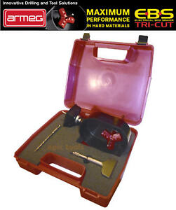 ARMEG-EBS-Tri-Cut-SINGLE-Backing-Box-Electrical-Socket-Box-Cutter-amp-Chisel-KIT