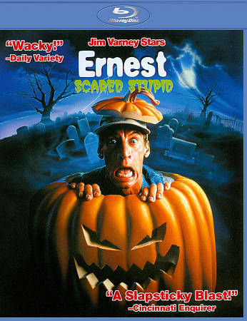 Ernest Scared Stupid (Blu-ray Disc, 2011) Jim Varney