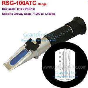RSG-100ATC-Black-rubber-strip-Brix-amp-Beer-Sugar-Wine-Wort-SG-0-32-Refractometer