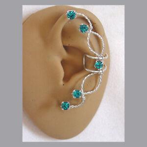 Single-Swarovski-Rhinestone-Ear-cuff-in-Blue-Zircon-and-sterling-silver