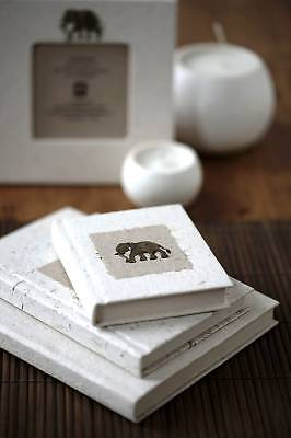 Eco Friendly Elephant Dung Paper Notebooks Journals, Fair Trade