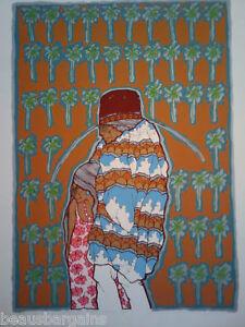 AMADO-PENA-Yaqui-en-Palm-Springs-1982-SERIGRAPH-SW-Art