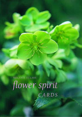 Flower Spirit Cards, Very Good Condition Book, Melanie Eclaire, ISBN 97818440010