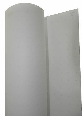 "Alpha Numeric Dotted Marking Paper Roll of 48"" tall, 400 linear feet"