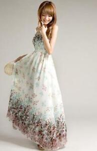 Long-Boho-Hippie-Maxi-Dress-Size-6-10-12-14-16-18-20-22-White-Black