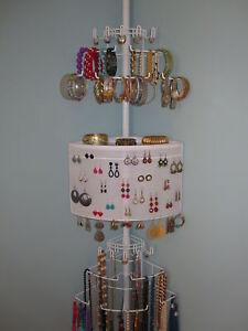 Longsten-8100-Corner-Jewelry-Organizer-Storage-Rack-Patented-Rated-Best