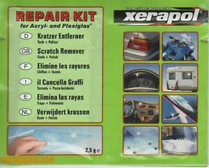 Dose-polish-Efface-rayures-XERAPOL-Plastique-plexiglass