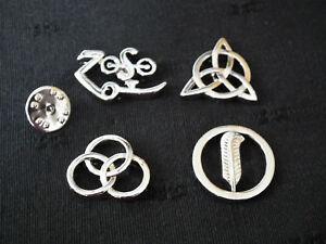Led-Zeppelin-4-Symbols-Pin-Badges-Superb-Set