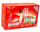 Nintendo Wii New Super Mario Bros Pack 512 MB Rot Spielekonsole (NTSC)
