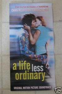 Life-Less-Ordinary-McGREGOR-DIAZ-BECK-MOVIE-SNDTRK-PROMO-POSTER-NEW