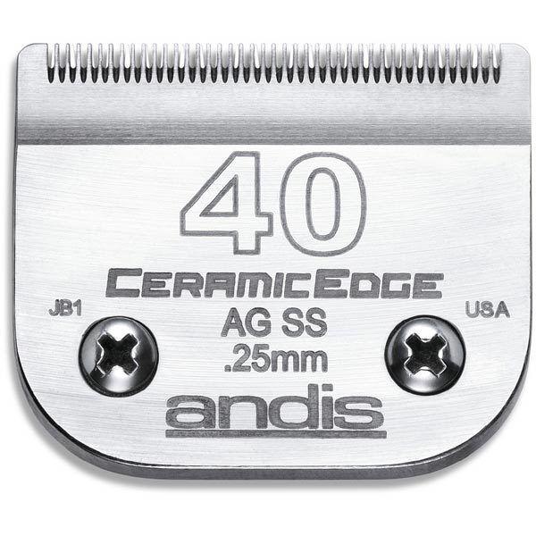 Originale Andis Andis Andis Ceramica Edge Lama per più Oster, Wahl , Laube Tosatrici 42205a