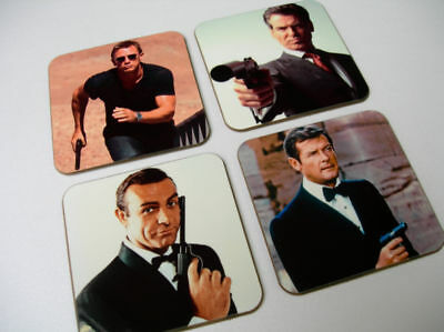James Bond 007 New Drinks COASTER Set