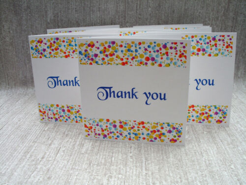 Multi buy discounts available Thank you cards pack of 6 cards /& envelopes