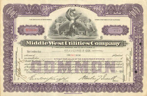 Middle-West-Utilities-Company-gt-1930s-power-stock-certificate-share