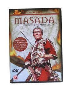 MASADA-EPIC-MINI-SERIES-1980-2-DISC-DVD-BOXSET