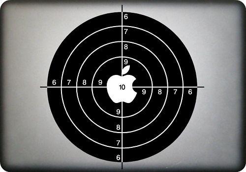 SHOOTING TARGET MacBook Vinyl Decal Sticker fits all