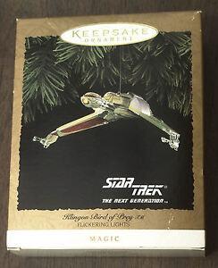 Hallmark-Keepsake-Ornament-Klingon-Bird-of-Prey-1994-MIB