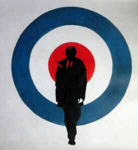 Quadrophenia-The-Who-Oil-Painting-24x24-in-NOT-a-poster-Framing-Available