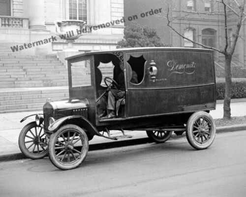 Photograph- Vintage Image Demonets Delivery Truck 1923   8x10