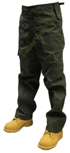 Pants Nero Beige Navy Oliva 30-50 Girovita 32 /& 30 Gamba Da Uomo Combat Cargo Pantaloni
