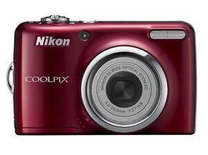 nikon coolpix l24 14 0mp digital camera red ebay rh ebay com L24 Turbo nikon coolpix l24 user manual