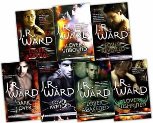 Black-Dagger-Brotherhood-Series-J-R-Ward-7-books-Set