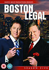 Boston Legal - Series 5 - Complete (DVD, 2009, 4-Disc Set)