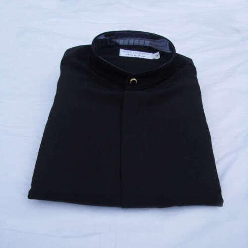 Peter Laurance Collarless Grandad Nehru Mandarin Style Mens Long Sleeve Shirt