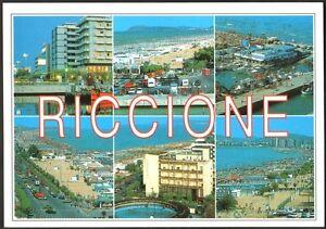 CARTOLINA-RICCIONE-RIVIERA-ADRIATICA-VINTAGE-ED-MARCACCINI-N-V