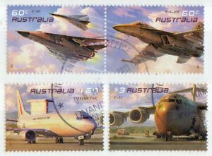 AUSTRALIA-2011-AUSTRALIAN-AIR-FORCE-AVIATION-SET-4-F-U