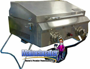 New-ALL-Stainless-Steel-Portable-LP-Propane-BBQ-Grill