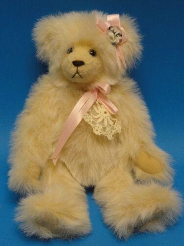 "TEDDY TREASURES BY SUSAN SMITH TEDDY BEAR >> 12"""