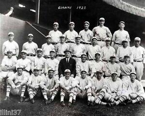 1922-NEW-YORK-GIANTS-BASEBALL-8x10-TEAM-PHOTO-2-MCGRAW