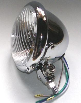 phare avant feu pieces bobber lampe chopper bates headlight 412 z