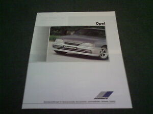 1988-ZENDER-OPEL-VAUXHALL-20-PAGE-BROCHURE-Corsa-Nova-Astra-Manta-Omega-Ascona