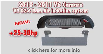 2010 Camaro V6 Vararam Ram air intake system