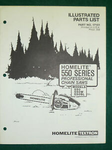 homelite textron super 2 chainsaw manual