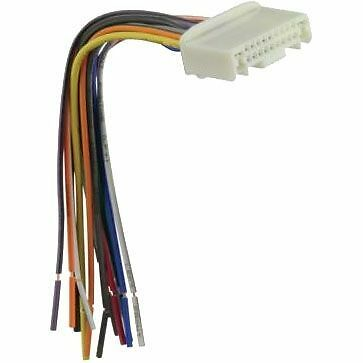 OEM Reverse Male Install Factory Radio Wire Harness